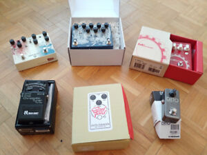 Assorted Guitar Effect Pedals for Sale - No Trades