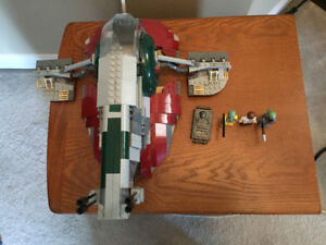 Lego Star Wars Slave 1 (8097) Good Condition with instructions