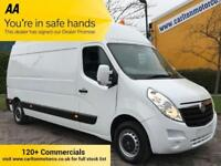 2014/ 64 Vauxhall Movano 2.3 F3500 L3 H3 Lwb [ Mobile Workshop ] Maxi-Roof Van