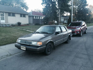 GREAT WINTER CAR! 1989 Mercury Other Topaz LS Sedan