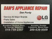 Dan's Appliance Repair & Installations    LG Authorized