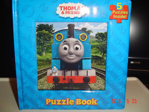 "5 ""THOMAS THE ENGINE & FRIENDS"" INTERACTIVE PUZZLES BOOK"