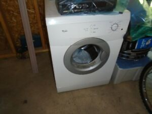 WHIRLPOOL APT. SIZE DRYER.  USED 1 YEAR