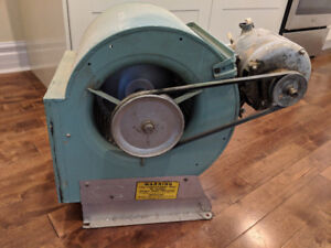 Squirrel Cage Furnace Blower and motor