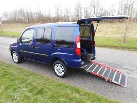 2011 Fiat Doblo 1.4 ONLY 15K Wheelchair Accessible Disabled Access Vehicle WAV