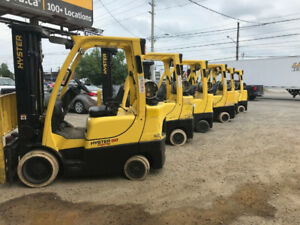 Hyster forklifts at a reasonable pricing!