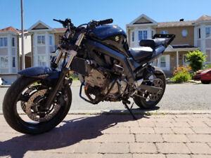 sv650 stunt bike