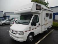 Compass Avantgarde 200 2003 4 berth U Shape Lounge Motorhome For Sale Ref: 15665