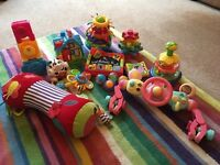 Baby and toddler interactive toys in great condition