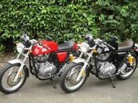 ROYAL ENFIELD CONTINENTAL 535, 2 USED BIKES IN STOCK
