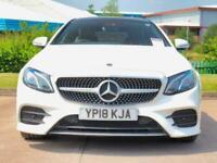 2018 Mercedes-Benz E Class Mercedes-Benz E Coupe E220 2.1 CDI AMG Line Premium 2