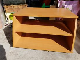 Single wooden TV unit