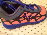 Underarmour sz 6 toddler shoes - BRAND NEW