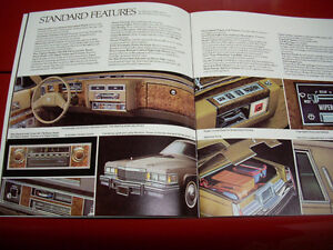 1979 Cadillac sales brochure Peterborough Peterborough Area image 4