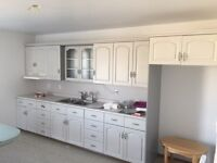 Kitchen Cabinets with counter top