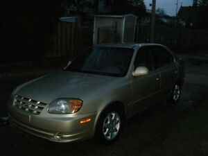 2006 Hyundai Accent s5 Berline