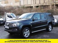 2013 VOLKSWAGEN AMAROK TDI 180 HIGHLINE 4MOTION IN BLUE AUTOMATIC 4X4 DIESEL