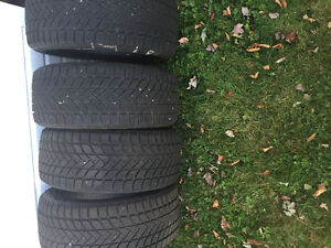 Like new tires 225/45/17 winter tires