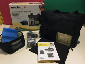 Medela In Style Advanced Double Breastpump For Sale