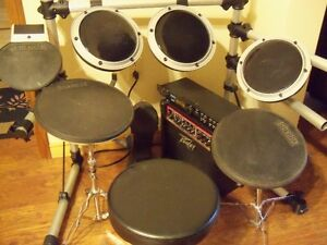 pads and drum brain