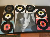 Vinyl Records/LP's/45's Sonny and Cher,Cher Lot of 12 Vintage