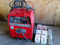 Lincoln Electric AC-225 GLM Stick Welder with Rods