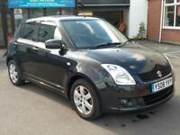 2008 Suzuki Swift 1.5 GLX | Petrol | Manual | 5 door | Hatchback | black