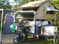 Unique camping trailer for sale - reduced price