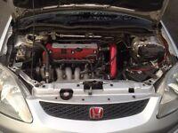 Honda civic type R , ep3 , 2 L petrol