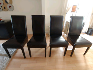 Kitchen or dining parson chairs