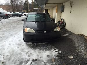 2002 HONDA CIVIC COUPE AUTOMATIC FOR SALE