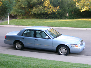 2004 grand marquis- OLD MAN MOBILE!