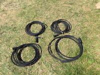 Karcher hoses x4 unused 10 m1/4wire