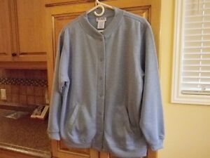 *Blair Casual Sweater Coat, powder blue..never worn..very soft.