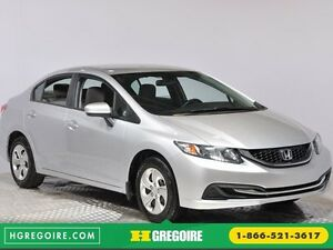 2014 Honda Civic LX A/C  CRUISE BLUETOOTH SIEGES CHAUFFANT