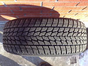 4 pneus d'hiver Toyo Observe G-02 Plus 235 55 R19 101T