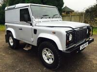 2006 Land Rover Defender 90 Td5 County Van. Very Low Miles! 55,000