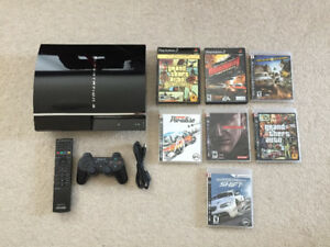 Backward Compatible Playstation 3 80GB + Extras