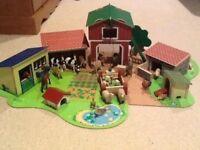 ELC Farmyard Playset plus extra animals