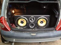 2x 1600w twin vibe sub built in amp