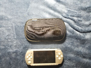 Original PSP with Sleeve and Battery