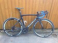Carbon bike Custom build Team Sky replica