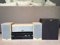 5.1 surround sound home cinema system - Tannoy speakers & Yamaha amp