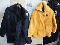 2 Mustang floater jackets