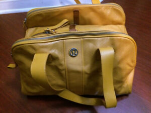 lululemon gym bag mustard yellow