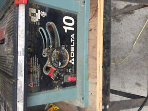 "10"" Motorized Bench Saw for sale (offers welcome)"