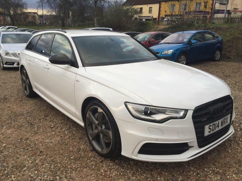 2014 audi a6 avant 3 0 bitdi black edition tiptronic quattro 5dr in norwich norfolk gumtree. Black Bedroom Furniture Sets. Home Design Ideas