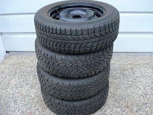 Winter tires with sensors and rims
