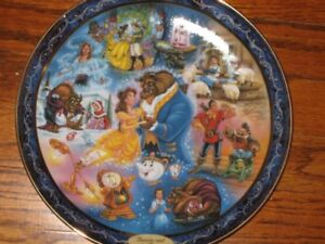 Disney Collectors Plates Princess $50 each