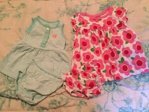 0-3 month Baby Girl clothes London Ontario image 1
